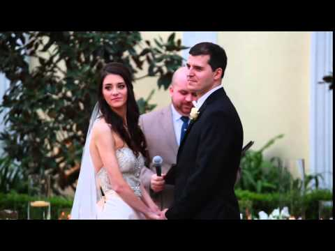 Wedding Ceremony - New Orleans Board of Trade Courtyard