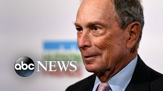 Trump remarks on Michael Bloomberg entering presidential race