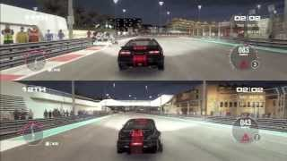 Grid 2 PS3 Gameplay Crashes - Abu Dhabi GP Race