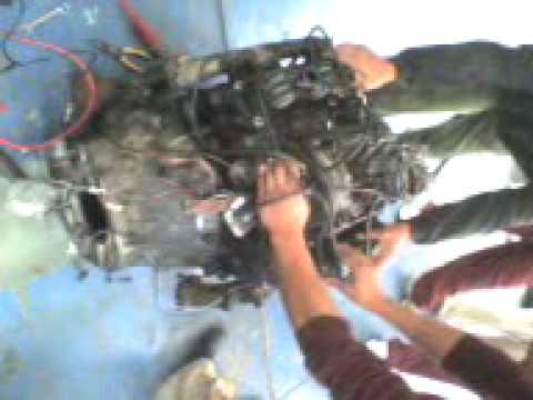 Motor 3 9 V6 1 Dic 09 Primer Encendido Youtube