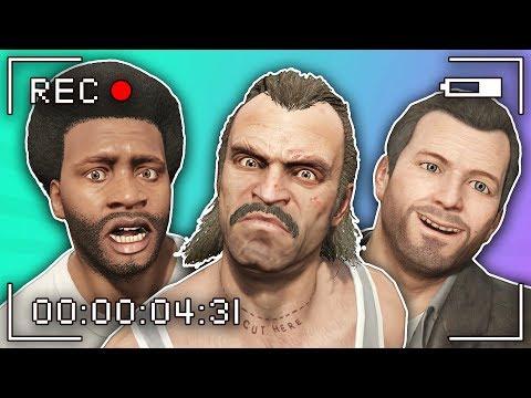 GTA 5   Trevor, Michael and Franklin MAKE A MOVIE thumbnail