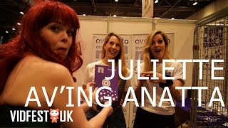 Flickering Myth TV & Avanatta | Juliette's Vidfest Diaries Episode 3 | VidfestUK May 2015