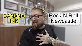 Krótka wizyta w Rock N Roll Tattoo Newcastle - Grand Opening  Projekt INK