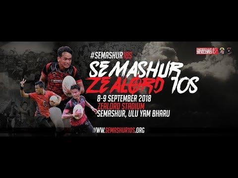 KEJOHANAN RAGBI JEMPUTAN SEMASHUR ZEALORD 10s 2018 - Final