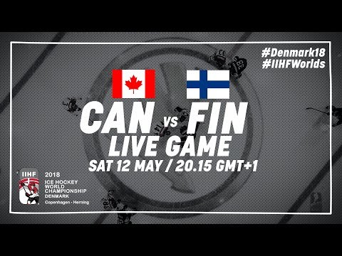 Canada - Finland | Live | 2018 IIHF Ice Hockey World Championship
