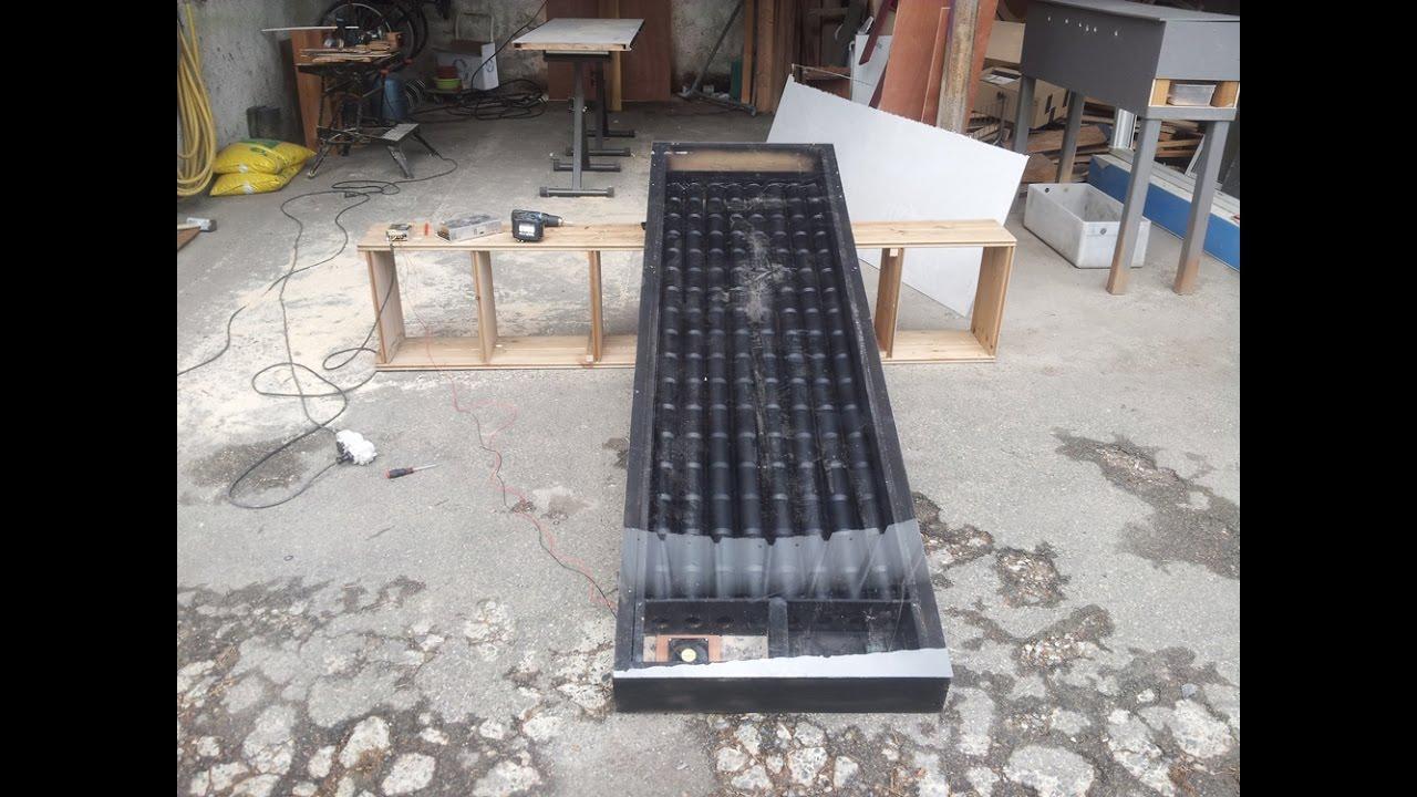 chauffage d appoint panneau solaire thermique chauffage fait avec des canettes de coca n 1. Black Bedroom Furniture Sets. Home Design Ideas