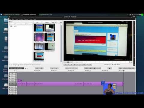 Flowblade Video Editor - How to use, cut, and splice your video