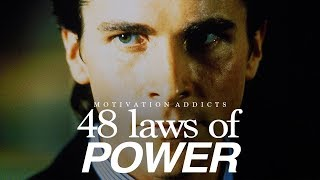 The 48 Laws Of Power - Motivation Addicts - (1% mindset)