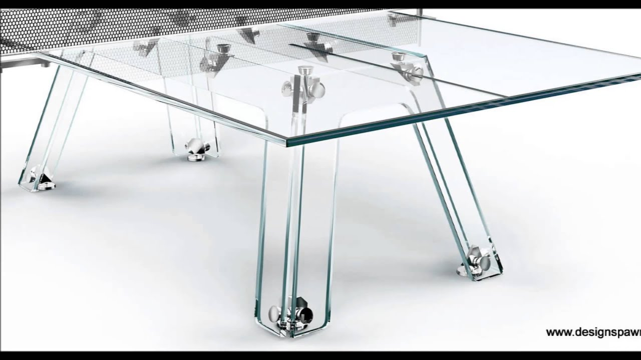 Lungolinea Crystal Ping Pong Table