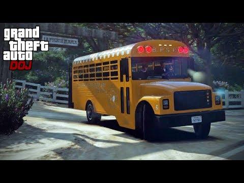 GTA 5 Roleplay - DOJ 199 - Yellow Jack Party Bus (Criminal)