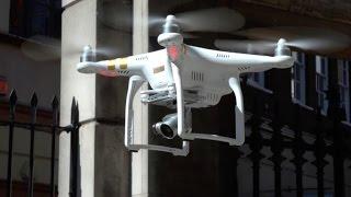 Check out the 4K live streaming DJI Phantom 3 drone