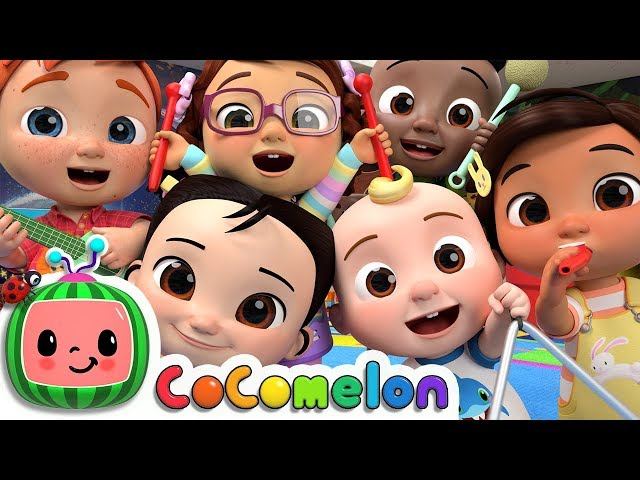 The More We Get Together | CoCoMelon Nursery Rhymes & Kids Songs