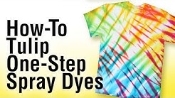 How-to Tie Dye using Tulip One-Step Spray Dye