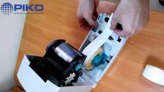 видео Принтеры этикеток штрихкода Zebra QLN320