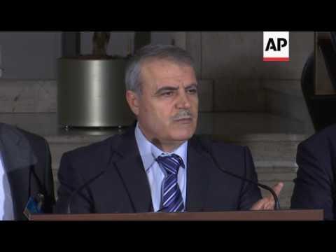 Syria opposition and UN envoy on Geneva talks