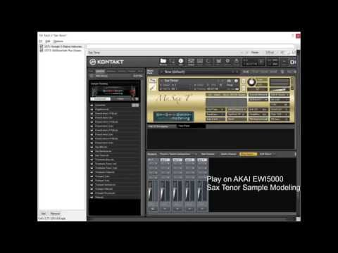 AKAI EWI5000 built-in sounds and other sounds