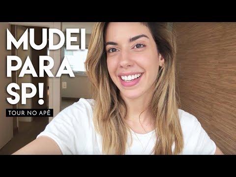 POR QUE ME MUDEI PRA SÃO PAULO? / TOUR NO APÊ NOVO