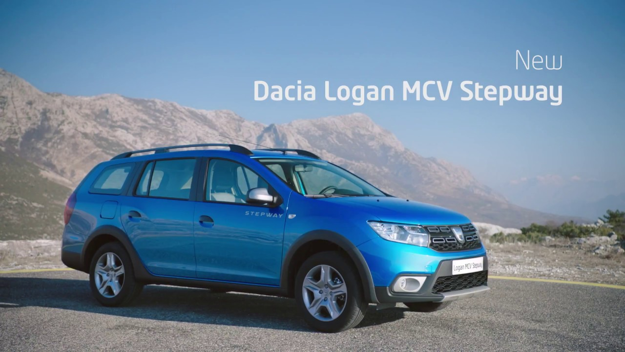 new logan mcv stepway i dacia youtube. Black Bedroom Furniture Sets. Home Design Ideas
