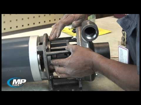 Setting Impeller Clearance on an MP Pumps HTO Hot Oil Pump
