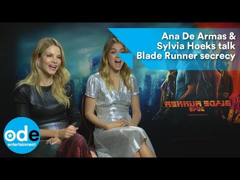 Ana De Armas & Sylvia Hoeks talk Blade Runner secrecy