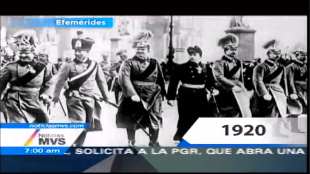 Efemérides 23 de Enero del 2015, Noticias MVS con Carmen Aristegui