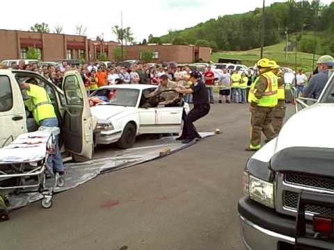 Monroe County Rescue Squad at Tellico Plains High School