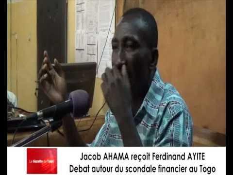 Ferdinad AYITE parle du scandale financier qui implique certaines autorités togolaises