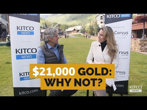 Gold price should be $21,000 if you follow history – Rob McEwen