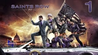 Co-op Let's Play - Saints Row IV - Episode 1 - The Subtle Beginning!