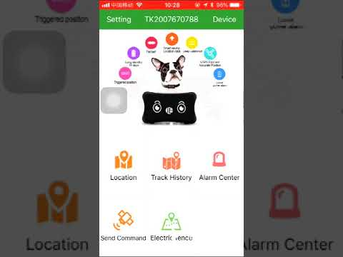 TK103 gps103 tracker register account in DAGPS and add device via yourself