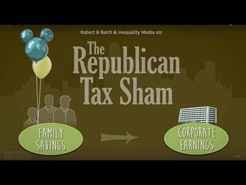 Republican Tax Sham