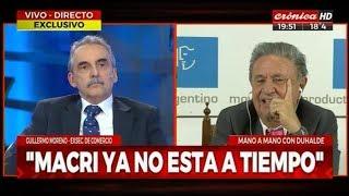 Guillermo Moreno en Cronica TV 25/04/19