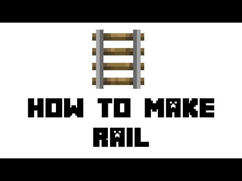 minecraft-survival:-how-to-make-rail