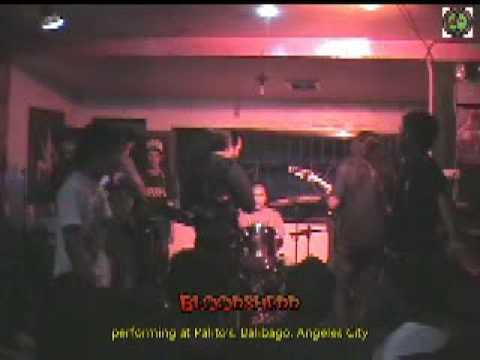 Metals Band Bloodshedd live at Palito's Music and Sports Bar, Balibago, Angeles City, Philippines