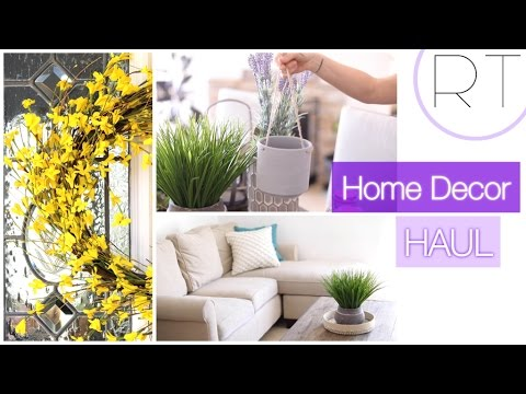 Spring Home Decor (Affordable Haul + Ideas)