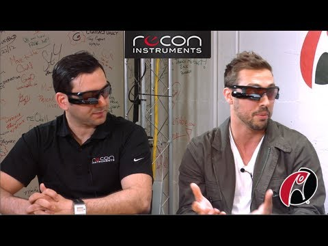 Scoble recons Recon Instruments' Heads-up Display (HUD) tech