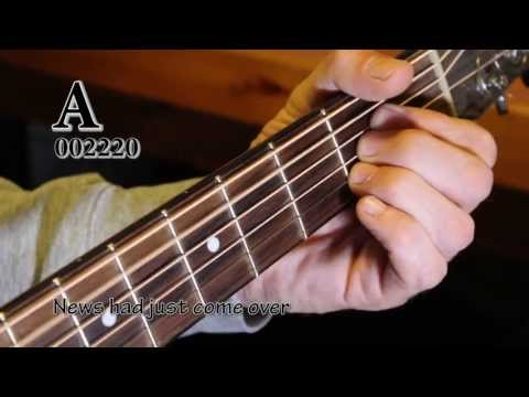 FIVE YEARS - David Bowie. Great Acoustic guitar tutorial with chords/lyrics