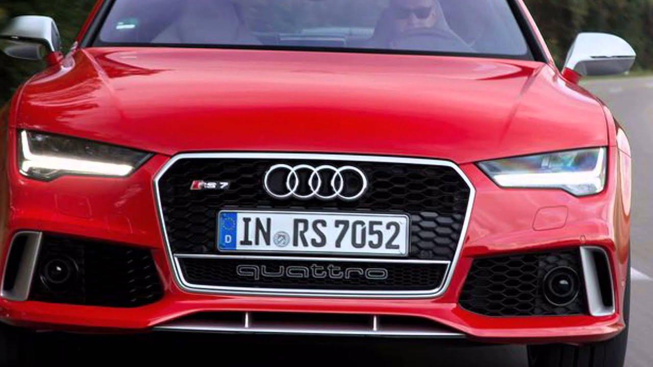 2016 Audi S8 plus vs 2015 Audi RS7 - YouTube