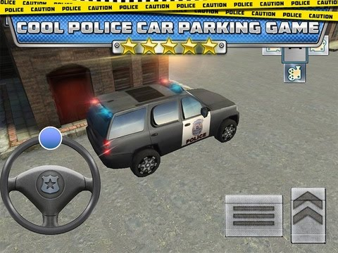 911 Police Car Parking Game Traffic Police Car Drive Gameplay