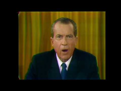 President Richard Nixon Address to the Nation on the War in Vietnam, November 3, 1969