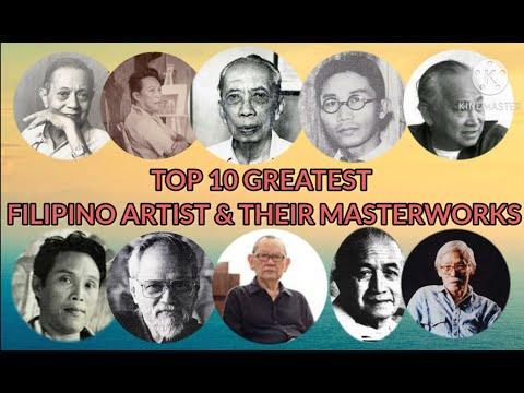 Top 10 Greatest Filipino Artist and their Masterworks || Philippine Art