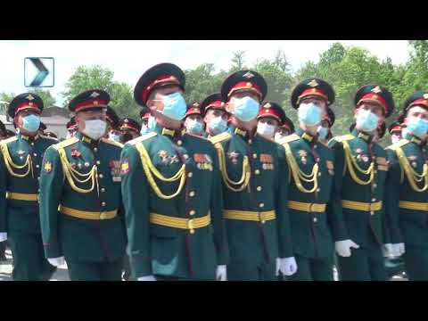 Генеральная репетиция парада Победы во Владикавказе