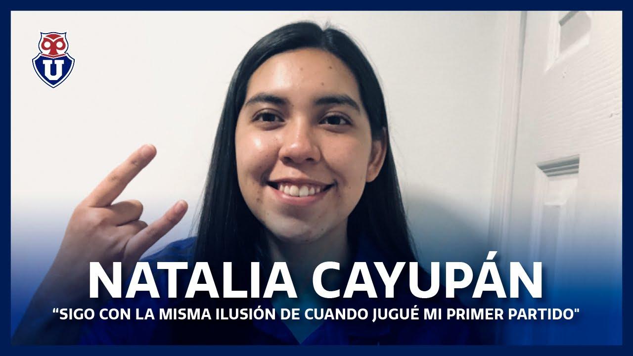 """Natalia Cayupán: """"Sigo con la misma ilusión de cuando jugué mi primer partido"""""""