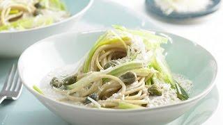 Спагетти с тунцом. Легкий домашний рецепт.