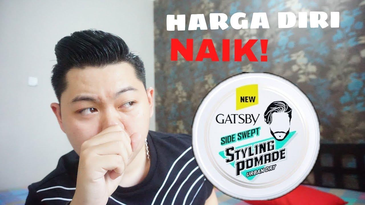 Pomade Baru Gatsby Styling Urban Dry Side Swept Youtube
