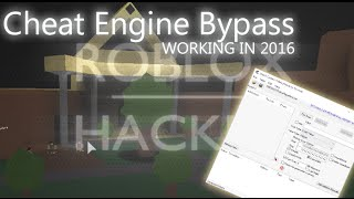 Roblox Cheat Engine bypass [2017 WORKING]