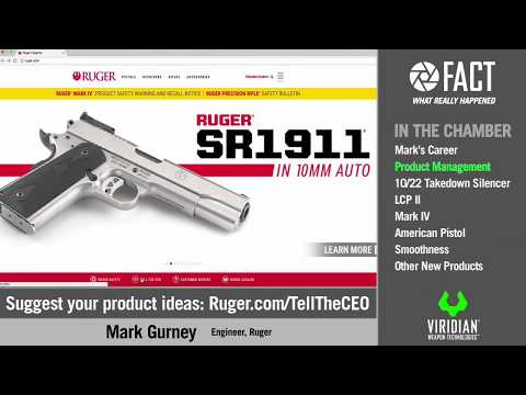 Just the FACTs: NRA 2017 - Ep.5 Mark Gurney, Ruger Product Manager