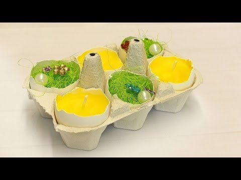 migros decorazioni di pasqua il giallo dell 39 uovo youtube. Black Bedroom Furniture Sets. Home Design Ideas