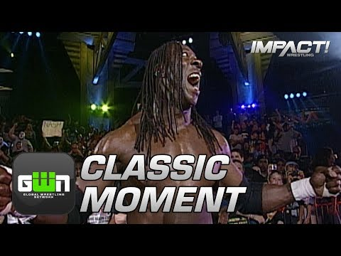 Booker T Debuts in TNA as Sting's Mystery Partner (Genesis 2007) | Classic IMPACT Wrestling Moments
