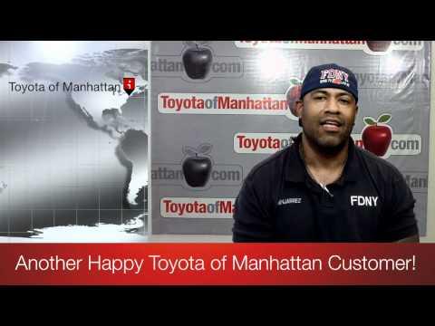 Felix - Another Happy Toyota of Manhattan Customer - New York, NY 10036